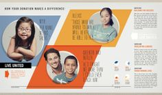 united way brochures | design sensory
