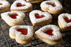 Image result for jam heart cookies