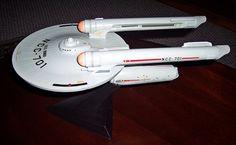 USS Kongo Destroyer/Scout based on a Matt Jefferies original design - HobbyTalk