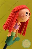 FofuLápiz princesa Disney - La Sirenita Top Fofuchas - Fofuchas personalizadas