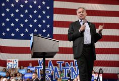 Photo               Senator Tim Kaine of Virginia, Hillary Clinton's running mate, speaking at the Boys and Girls Club in Lancaster, Pa., on Tuesday.                                      Credit             Suzette Wenger/LNP, via Associated Press                       Senator Tim Kaine of V...