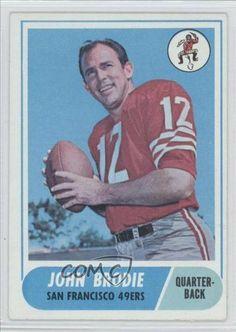 John Brodie San Francisco 49ers (Football Card) 1968 Topps #139 by Topps. $3.00. 1968 Topps #139 - John Brodie