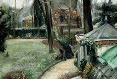'The Garden' - Maurice Brianchon (1888-1979)
