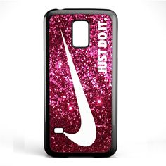 Just Do It Sparkle Glitter Pink TATUM-6021 Samsung Phonecase Cover Samsung Galaxy S3 Mini Galaxy S4 Mini Galaxy S5 Mini