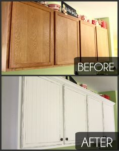 Kitchen Cabinet Makeovers how to paint your kitchen cabinets without losing your mind