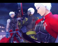 Fate Stay Night Series, Fate Stay Night Anime, Elsword, Fate Archer, One Punch Anime, Archer Emiya, Hot Anime Guys, Anime Girls, Shirou Emiya