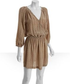 Like this style of dress. Easy to wear, comfortable, and a good style for petite women. Joie on Bluefly for $95