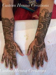 Bridal mehndi by Custom Henna Creations