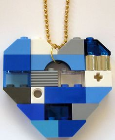 LEGO heart collectible Single thickness Model by MademoiselleAlma, $29.99