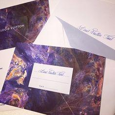 Invitation to Louis Vuitton Autumn-Winter 2014 Men Fashion Show