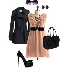 So cute...shoes are too much for me, but everything else I'm into...love the big sunglasses :)