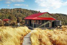 Saxon Hut, on the Heaphy Track