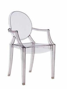 Clásicos del diseño. Silla Louis Ghost de Philiphe Stark.