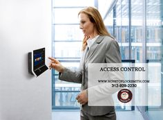 Access Control: Here at NONSTOP Locksmith in Chicago, IL, we are always up-to-date with the latest technology. As security becomes more and more important, the field of access control systems becomes more and more complicated. www.nonstoplocksmith.com #NonstopLocksmith #Locksmith #AccessControl #Chicago #ChicagoLocksmith