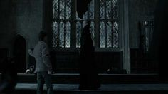 Anyone else ever notice how he deflected McGonagall's attack onto the two deatheaters behind him before making his escape?