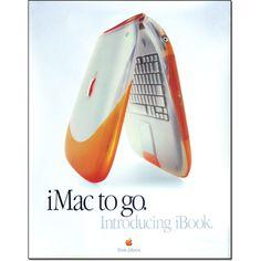 Vintage Apple Computer Tangerine Clamshell iBook Poster 1999 Think Different Apple Tv, Apple Watch, Apple Ipad, Macbook Pro Sale, Newest Macbook Pro, New Macbook, Steve Jobs, Steve Wozniak, Geek Gadgets