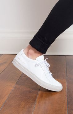 4f7eb1e7b75a4 Achilles Low White w. Carta Sole Common Projects