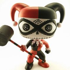 Day of the Dead Harley Quinn by itfigurescustoms