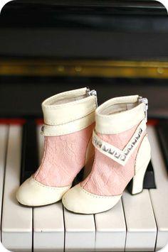 【代理】1/3 BJD鞋 SD GR 16女 DD 高跟脚尺寸 短靴