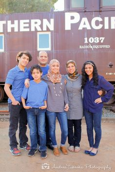 Railroad Train Inspired Family Portraits #andreatakeokaphotography