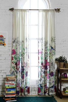 Las cortinas pueden ser todo menos aburridas:   17 Ideas coloridas para llenar de vida tu casa