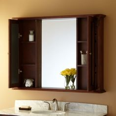 48 Sedwick Medicine Cabinet Bathroom Reno Pinterest Mirror Wood Cabinets And Wall