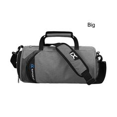 Men Gym Bags For Training Waterproof Basketball Fitness Women Outdoor Sports Football Bag With independent Shoes Storage XA103WA - Fitness Apparel Group