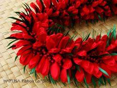 Hapuna ribbon lei blog in Japanese