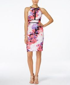 INC International Concepts Printed Halter Sheath Dress, Only at Macy's | macys.com