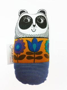 Scandinavian Fabric Panda Toy, £16