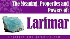 Larimar: A Complete Guide to Meaning and Uses.