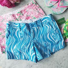 LILLY PULITZER The Callahan Short lilly pulitzer the callahan short  the unique beach twill fabric absorbs color and displays print beautifully and will never fade,   ⠀† size 2 ⠀† color/print: resort white joe fish small ⠀† zip fly short with center front button closure ⠀† slant front pockets and back welt pockets ⠀† 100% cotton  ⠀† new with tags  host pick!   ⠀5.15.16 › style obsessions  ⠀5.20.16 › casual friday  disclaimer: ⠀✗ final price  ⠀ Lilly Pulitzer Shorts
