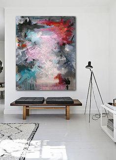 Rikke Laursen moderne abstrakte malerier | S H O W R O O M