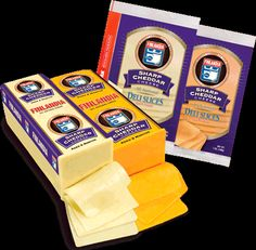 Lactose free sharp cheddar cheese