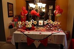 Link to ladybug themed party ideas - lots of good ones!