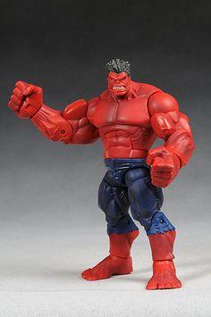 Marvel Legends Red Hulk wave Red Hulk action figure