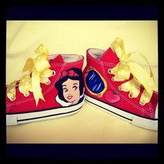 Snow white shoes