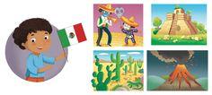 I'm Ready to Explore My World - Barbara Bongini #mexico #world #country #flag #culture #food #childrensbook #illustration #kidlitart #barbarabongini