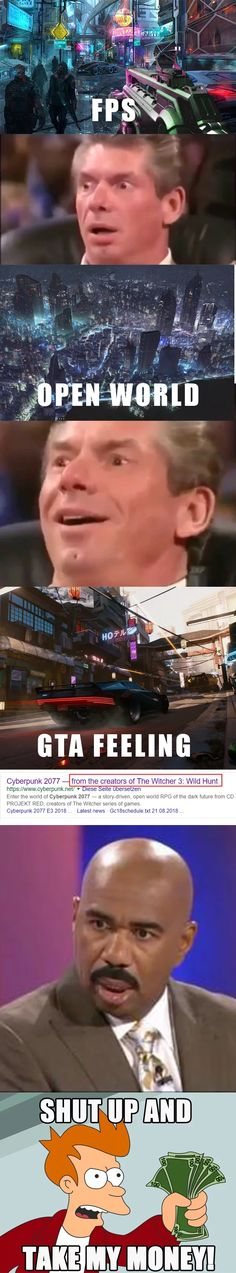 New Absolutely Free playing games memes Concepts : My Reaction to Cyberpunk Funny Gaming Memes, Gamer Humor, Stupid Funny Memes, Funny Relatable Memes, Cyberpunk 2077, Video Game Logic, Video Games Funny, Funny Games, Really Funny