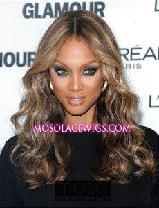 20'' #4/30 body wave Remy Human Hair Lace Front Wig Tyra hairstyle - mosolacewigs.com  20'' #4/30 body wave Remy Human Hair Lace Front Wig Tyra hairstyle