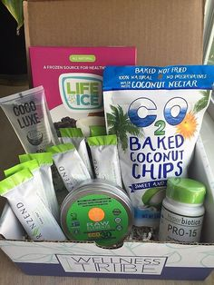 Check out my review of the July 2016 Wellness Tribe subscription box!
