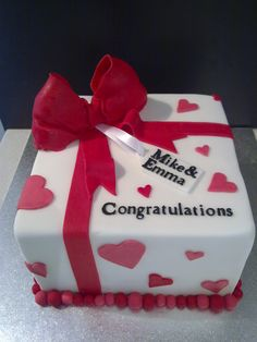Engagement Cake - for sister-in-law??