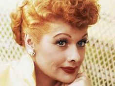 Lucy - the first female to do physical comedy really well.  Actually did a screen test to play Scarlett O'Hara.