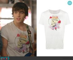 Tv Show Outfits, Cute Outfits, Tv Show Casting, Skull Print, Printed Tees, T Shirts For Women, Trending Outfits, Clothes, Jeremy Shada