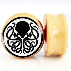 Find More Body Jewelry Information about Killer Cthulhu Nature Wood Ear Plugs And Flesh Tunnel Ear Gauges Ear Stretchers ExpanderS Calibri Orecchio,High Quality wood ear plug,China ear plugs Suppliers, Cheap gauge ear from DreamFire Store on Aliexpress.com