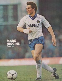 Mark Higgins Everton 1982