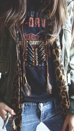➳➳➳☮ American Hippie Bohemian Boho Feathers Gypsy Spirit Style ~ Daring Side #bohemian ☮k☮ #boho