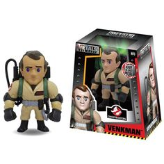 Ghostbusters Peter Venkman 4-Inch Metals Die-Cast Figure - Jada Toys - Ghostbusters - Action Figures at Entertainment Earth