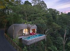 The Bird's Nest Pool Villa, at Keemala Resort - A wonderland of uniquely designed villas, each with a private pool, set in the rainforest of Kamala on Phuket Island, Thailand. Phuket Resorts, Hotels And Resorts, Luxury Hotels, Luxury Tents, Luxury Travel, Villa Phuket, Keemala Phuket, Treehouse Hotel, Phuket Thailand