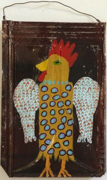chicken two, Billy Fred Hellams http://www.outsiderartgallery.net/gallery.html?gallery=billy%20fred%20hellams